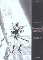 Propheties Elween T2 - Le Reveil Du Tyran Noir & Blanc - Intérieur - Format classique