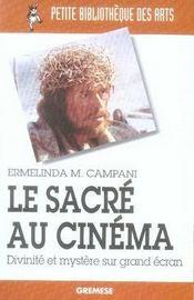 Le sacré au cinéma ; divinité et mystère sur grand écran - Intérieur - Format classique