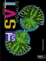 SVT ; terminale S ; enseignement de spécialité ; manuel de l'élève - Couverture - Format classique