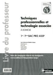 Techniques professionnelles et technologie associee (poch) 1re/term bpro assp opt domic - professeur - Couverture - Format classique