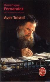 Avec Tolstoï - Couverture - Format classique