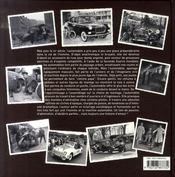 Des autos et des hommes - 4ème de couverture - Format classique