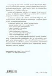 Ondes Electromagnetiques Dans Le Vide Et Les Milieux Conducteurs 52 Exercices Et Problemes Corriges - 4ème de couverture - Format classique