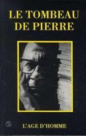 Tombeau De Pierre - Couverture - Format classique