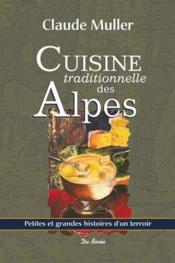 Cuisine Traditionnelle Des Alpes - Couverture - Format classique