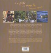 Peche A La Mouche (La) - 4ème de couverture - Format classique