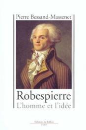 Robespierre - Couverture - Format classique