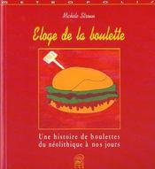 Eloge De La Boulette - Intérieur - Format classique
