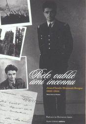Poete oublie, ami inconnu ; jean-claude diamant-berger, 1920-1944 ; mort pour la france - Intérieur - Format classique