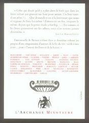 L'Amour Des Livres Et De La Lecture T.2 - 4ème de couverture - Format classique