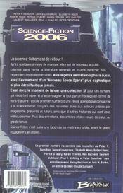 Science-fiction 2006 - 4ème de couverture - Format classique