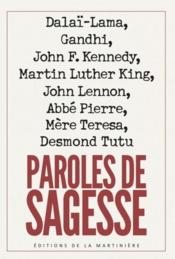 Vente livre :  Paroles de sagesse  - Collectif