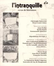 Vente livre :  L'Intranquille T.2  - Collectif