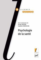 Psychologie de la santé - Couverture - Format classique