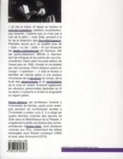 Lire Les Faux Monnayeurs - 4ème de couverture - Format classique