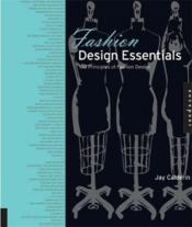 Fashion Design Essentials (Paperback) /Anglais - Couverture - Format classique