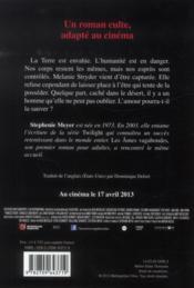 Les âmes vagabondes - 4ème de couverture - Format classique