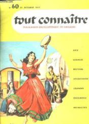 Tout Connaitre N° 60 Du 31 Octobre 1957. Les Peuples D Europe. - Couverture - Format classique