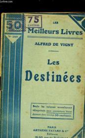 Les Destinees - Poemes Philosophiques - Couverture - Format classique