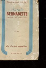 Sainte Bernadette - Bergere En Chretiente - Couverture - Format classique