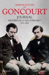 Journal des Goncourt ; mémoire de la vie littéraire t.3 ; 1887-1896 - Couverture - Format classique