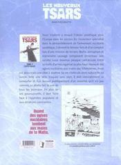 Les nouveaux tsars t.2 ; l'effet blast - 4ème de couverture - Format classique