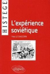 L'Experience Sovietique - Couverture - Format classique