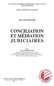 Conciliation Et Mediation Judiciaires - Couverture - Format classique