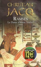 La Dame D'Abou Simbel / Ramses T.4 - Couverture - Format classique