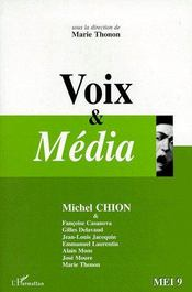 Voix & média - Couverture - Format classique