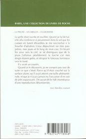 La Piscine ; Les Abeilles ; La Grossesse - 4ème de couverture - Format classique