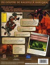 Warcraft ; le guide des donjons - 4ème de couverture - Format classique