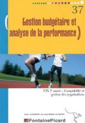 Gestion Budgetaire Et Analyse De La Performance Bts2 Cgo - Couverture - Format classique