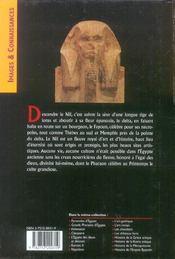 Nil des pharaons (le) - 4ème de couverture - Format classique
