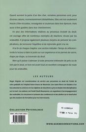 Surmonter L'Epreuve Du Deuil (4e Edition) - 4ème de couverture - Format classique