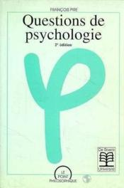 Question de psychologie - Couverture - Format classique