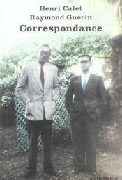 Correspondance 1938-1955 - Intérieur - Format classique