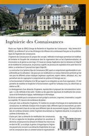 Ingénierie des connaissances ; 18e journée francophone - 4ème de couverture - Format classique
