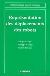 Representation des deplacements des robots - Intérieur - Format classique