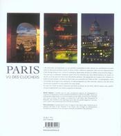 Paris vu des clochers - 4ème de couverture - Format classique