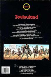 Zoulouland t.6 ; l'épine du dragon - 4ème de couverture - Format classique