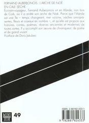 L'arche de Noé en cale sèche - 4ème de couverture - Format classique
