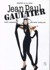 Jean Paul Gaultier - Couverture - Format classique