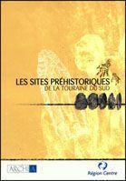 Les sites préhistoriques de la touraine du sud - Couverture - Format classique