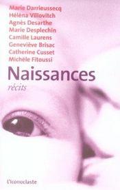 Naissances - Intérieur - Format classique