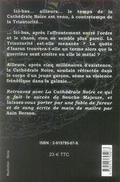 La cathédrale noire - 4ème de couverture - Format classique