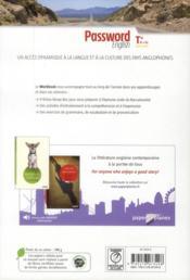 Password English ; Terminale ; Workbook - 4ème de couverture - Format classique