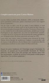 Le code Jefferson - 4ème de couverture - Format classique