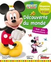 La Maison De Mickey ; Découverte Du Monde ; Moyenne Section - Couverture - Format classique