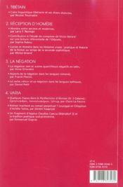 Revue Lalies N.25 - 4ème de couverture - Format classique